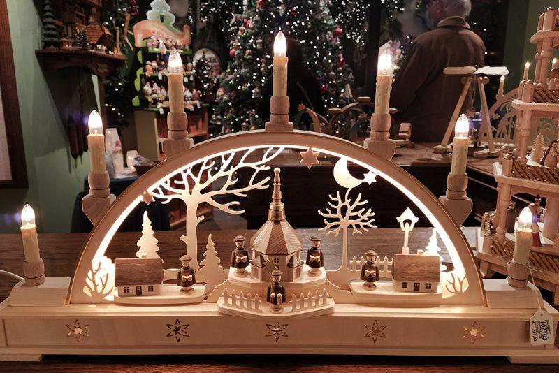arcos de luces para decoración navideña