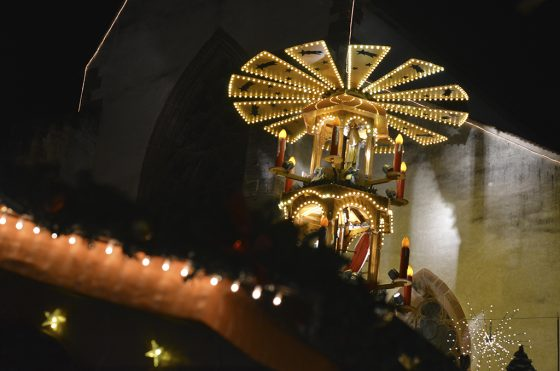 pirámide de la navidad