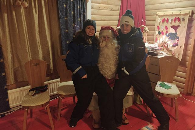 Visita a la casa de Papá Noel en Laponia