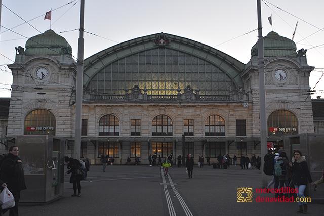 estación de tren de basilea
